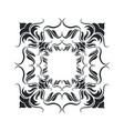 decorative frame vintage elegant flourish image vector image