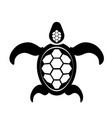 ocean turtle icon sea graphic simple animal logo vector image