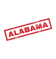 Alabama Rubber Stamp vector image