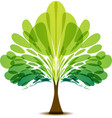 Tree logo vector image
