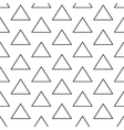 Triangles geometric seamless pattern vector image vector image