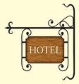 Hotel5 vector image vector image
