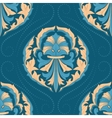 Seamless oriental wallpaper vector image