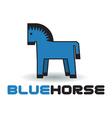 Horse Logo vector image