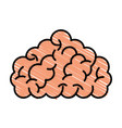 storm brain isolated icon vector image