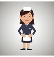 housekeeper woman design vector image