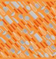 set kitchen cutlery pattern background vector image