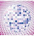 velvet disco ball vector image