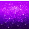 Modern abstract geometric purple background vector image