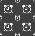 Alarm clock sign icon Wake up alarm symbol vector image