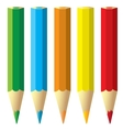 Crayons Stationeries vector image