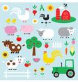 farm clipart vector image