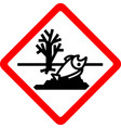 new safety symbol vector image