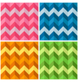 Seamless Zigzag Patterns vector image