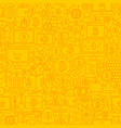 bitcoin yellow line tile pattern vector image
