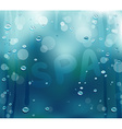 Steamy Spa Backdrop vector image