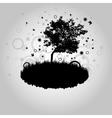 Magic tree vector image