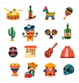 Traditional Mexican Symbols Collection vector image