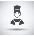 Hotel maid icon vector image