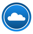 Cloud Icon vector image