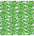 Seamless clover pattern for St Patricks vector image