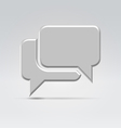 Conversation icon vector