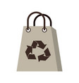 recyclable icon image vector image