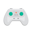 wireless keypad for game console icon vector image