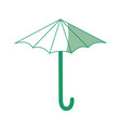 umbrella icon image vector image