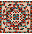 abstract triangle pattern vector image