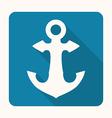 anchor design vector image
