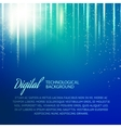 Blue background with light effect vector image