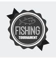 fishing icon vector image