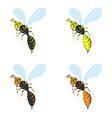 a wasp vector image
