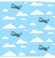 Plane seamless pattern vector image