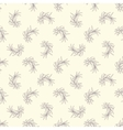 seamless pattern with pastel olive branch vector image