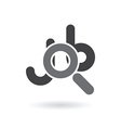 job searching icon vector image