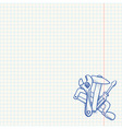 Maintenance Tools Drawing vector image vector image