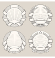 Label templates2 vector image