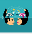 Concepts for creative brainstorming process vector image