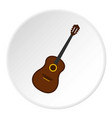charango music instrument icon circle vector image