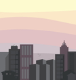cityline2 resize vector image