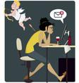 Dangers of love vector image