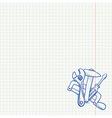 Maintenance Tools Drawing vector image