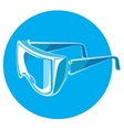 safety glasses vector image vector image