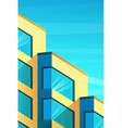 building in modern style vector image