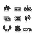 Money an icon3 vector image