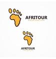 africa logo vector image