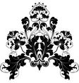 floral antique designs vector image