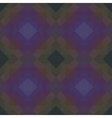 Retro seamless pattern of geometric shapes vector image